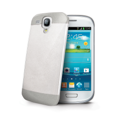 GLITTER COVER WHITE GALAXY S3 MINI