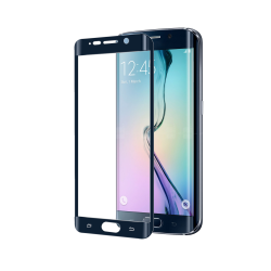 FULL CURVE GLASS GALAXY S6 EDGE BK