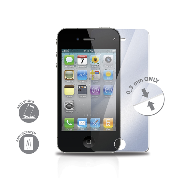 GLASS PROTECTOR IPHONE 4/4S