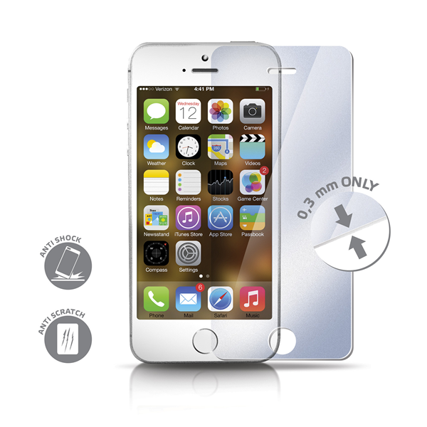 GLASS PROTECTOR IPHONE 5/5S/5C/SE