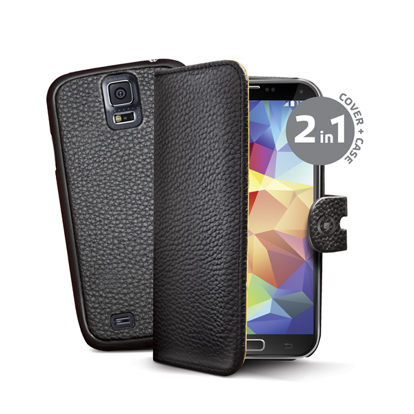 BK PU WALLET CASE FOR GALAXY S5