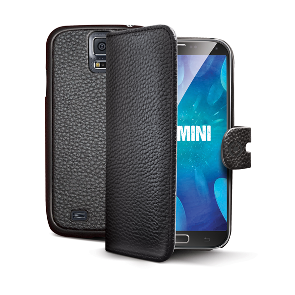 CUSTODIA AMBO NERA GALAXY S5 MINI
