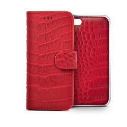 RED CROCODILE AMBO FOR IPHONE 6
