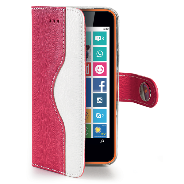 PINK WALLET ONDA CASE FOR LUMIA 630