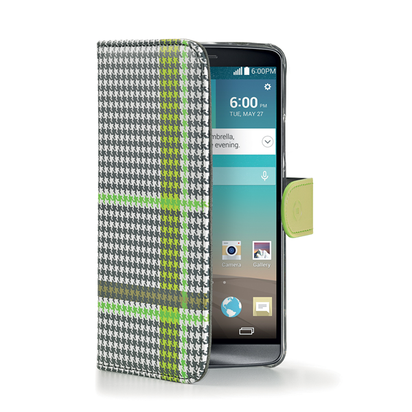 PIED DE POULE WALLY GREEN LG G3