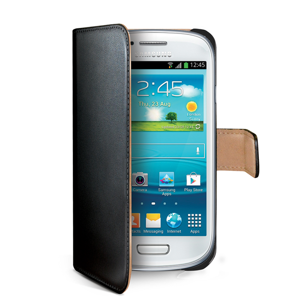 WALLY CASE GALAXY S3 MINI BLACK