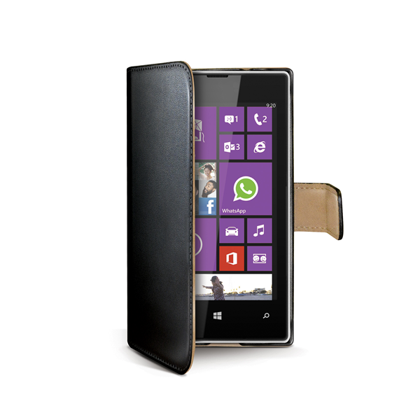 WALLY CASE FOR LUMIA 520 BK