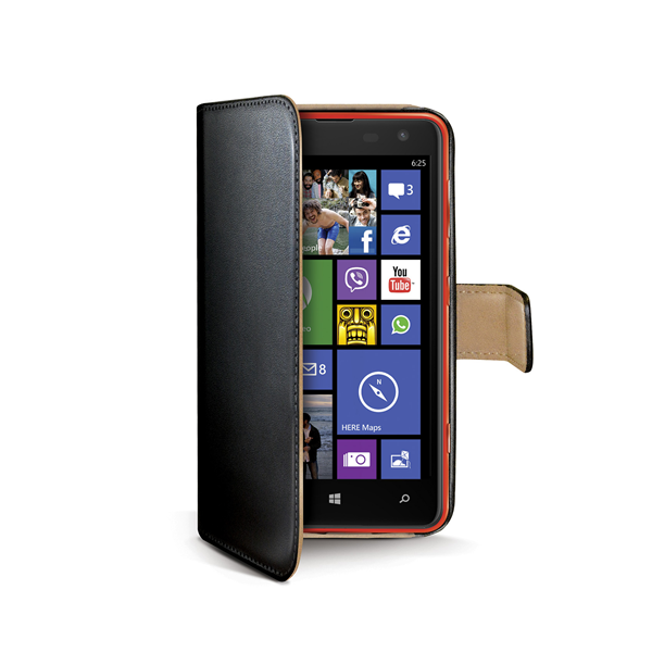 WALLY CASE FOR LUMIA 625 BK