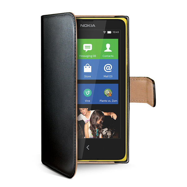WALLY CASE LUMIA 630/635 BLACK