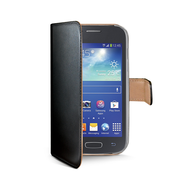 WALLY CASE FOR GALAXY ACE 4 BK