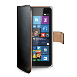 WALLY CASE LUMIA 535 BLACK
