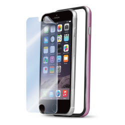 BUMPER AND SCREEN IPHONE 6 PINK