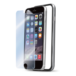BUMPER AND SCREEN IPHONE 6 SILVER