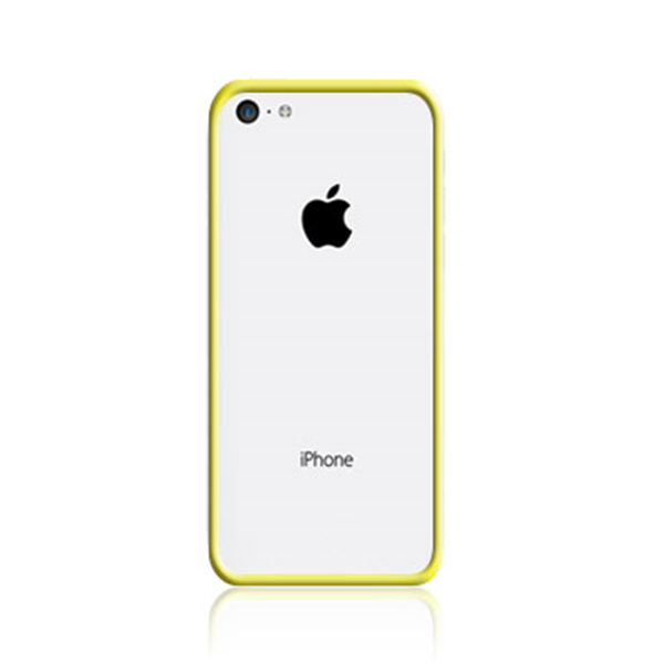 TPU BUMPER YELLOW IPHONE 5C