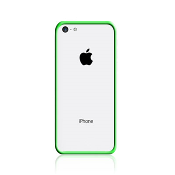 TPU BUMPER GREEN IPHONE 5C