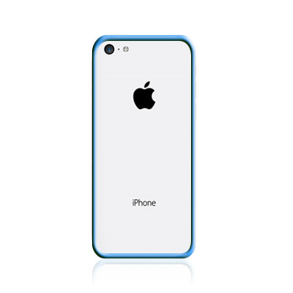 TPU BUMPER LIGHT BLUE IPHONE 5C
