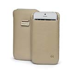 POUCH CASE BEIGE IPHONE SE/5S/IQOS