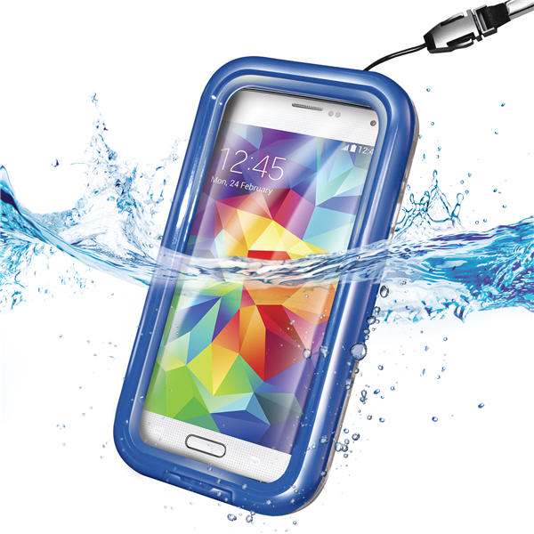 WATERPROOF CASE SAM BLUE
