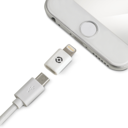 ADAPTER LIGHTNING MICROUSB WH