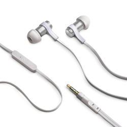 STEREO EARPHONES 3.5 MM SILVER
