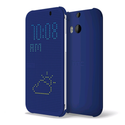 DOT VIEW COVER ONE M8/ONE M8S BLUE