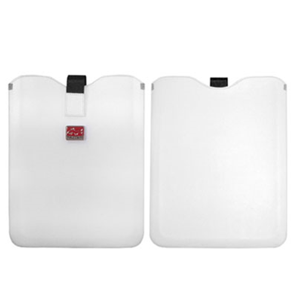 MP WHITE LEATHER CASE FOR IPAD