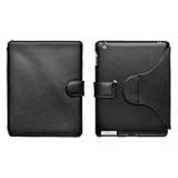 LEATHER CASE STAND FOR IPAD 2