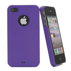 MU IGUM VIOLET COVER IPHONE 4S/4