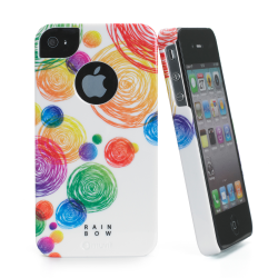 RAINBOW COVER IPHONE 4S/4