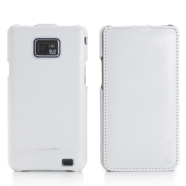 REAL WH LEATHER CASE GALAXY S II
