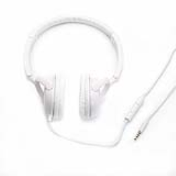 WHITE HEADPHONE JACK 3.5 MM