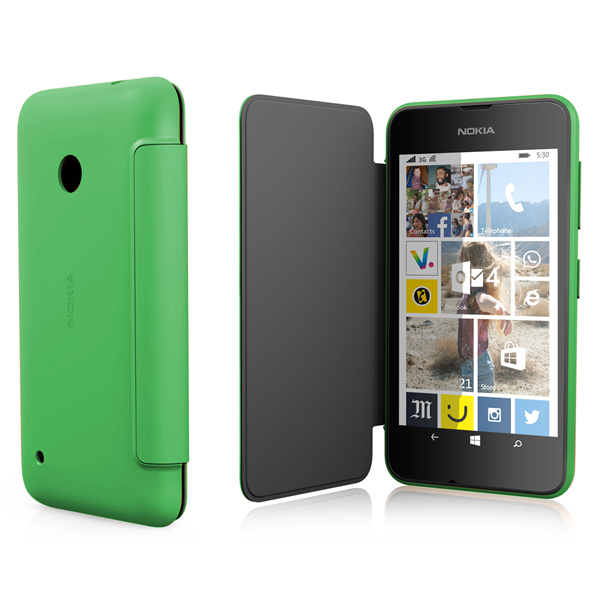 FLIP SHELL GREEN LUMIA 530