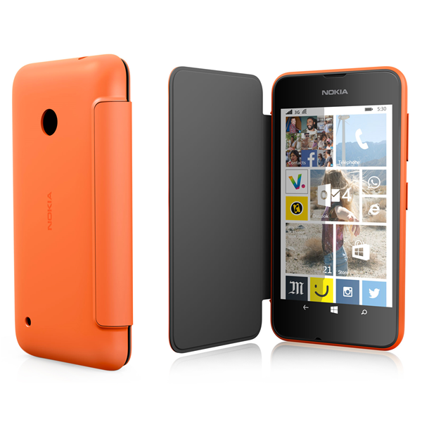 FLIP SHELL ORANGE LUMIA 530