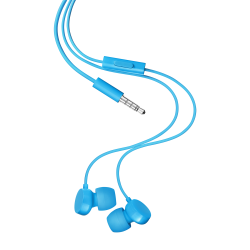 STEREO EARPHONES CYAN JACK 3 5 MM