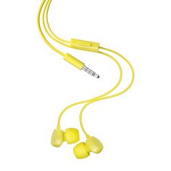 STEREO EARPHONES YELLOW JACK 3 5 M