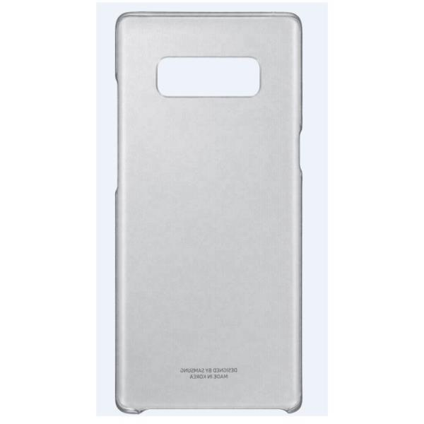 CLEAR COVER BLACK GALAXY NOTE 8
