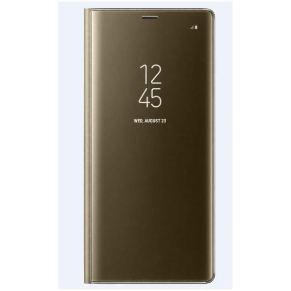 VIEW STAND COVER GOLD GALAXY NOTE 8