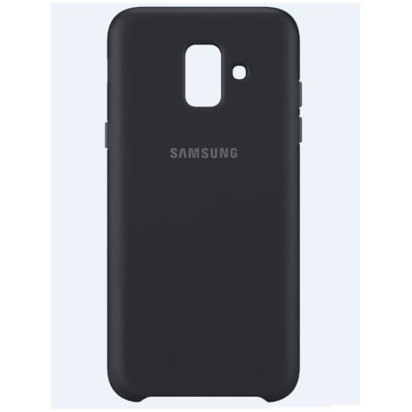 DUAL LAYER COVER GALAXY A6 BLACK