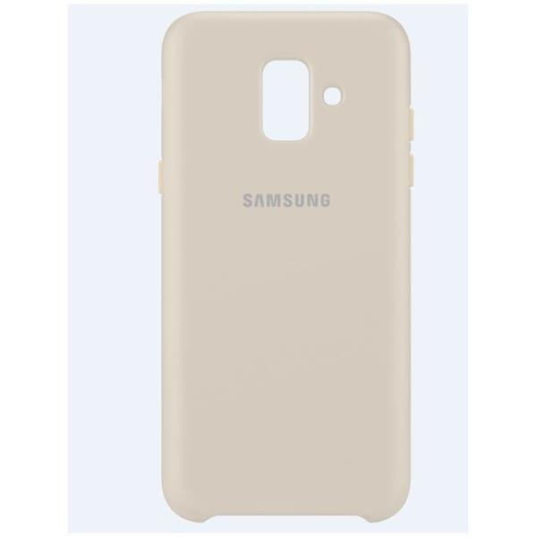 DUAL LAYER COVER GALAXY A6 GOLD
