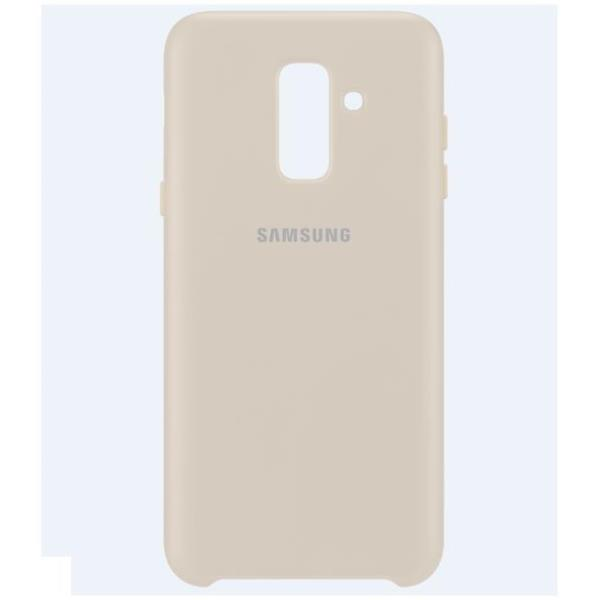 DUAL LAYER COVER GALAXY A6+ GOLD