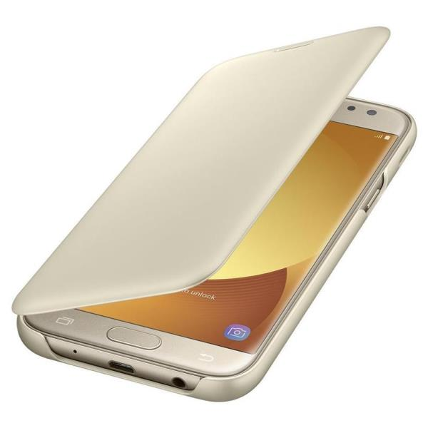 WALLET COVER GOLD GALAXY J5 2017