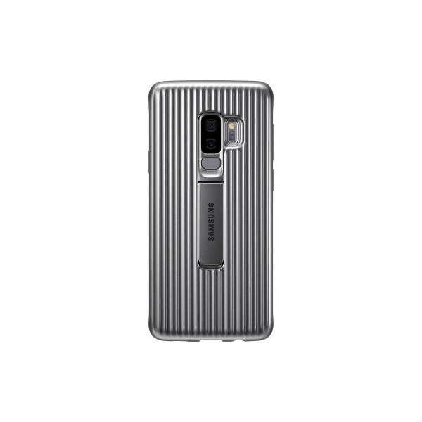 PROTECTIVE COVER GALAXY S9+ SILVER