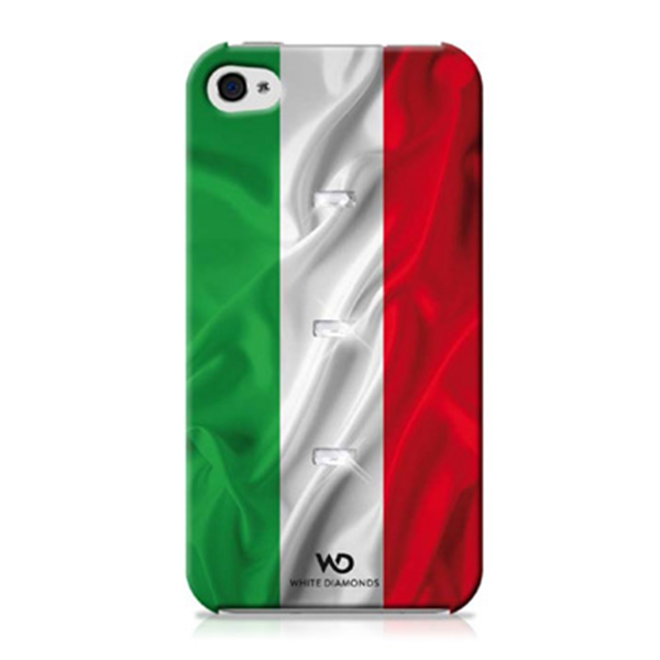 FLAG COVER ITALY IPHONE 4/4S
