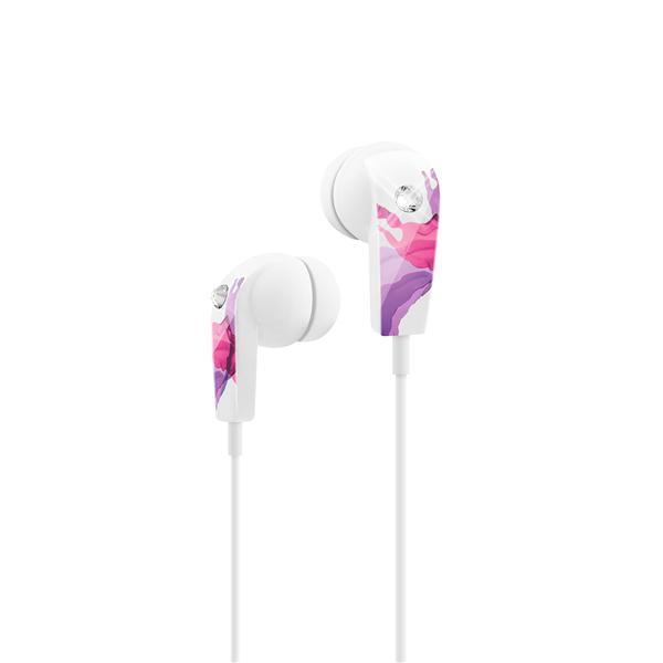 LIQUIDS EARPHONE STEREO PINK/PURPLE