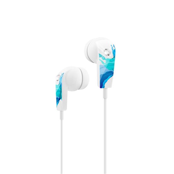 LIQUIDS EARPHONE STEREO BLUE/CYAN