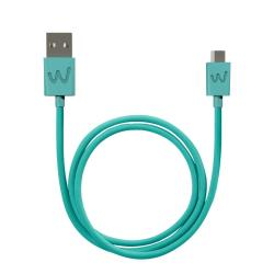 1 MT MICRO USB CABLE BLEEN