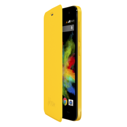 WIKO FOLIO COVER YELLLOW BLOOM