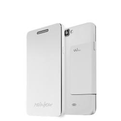 FOLIO COVER WHITE RAINBOW 3G